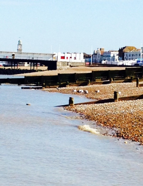 Herne Bay Beach Sunday