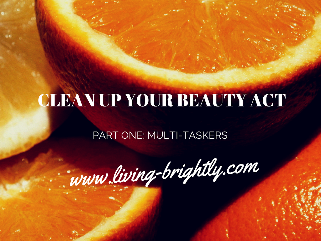 Clean up your beauty act. Organic Coconut Oil and Argan Oil