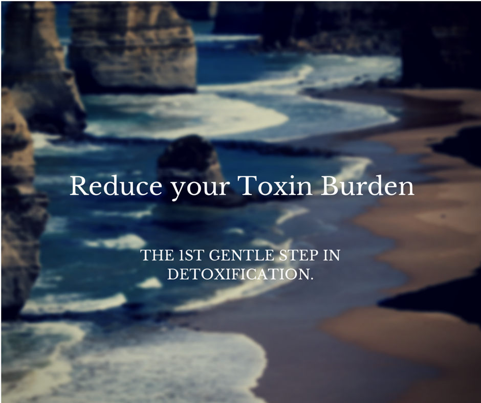 remove the toxins first