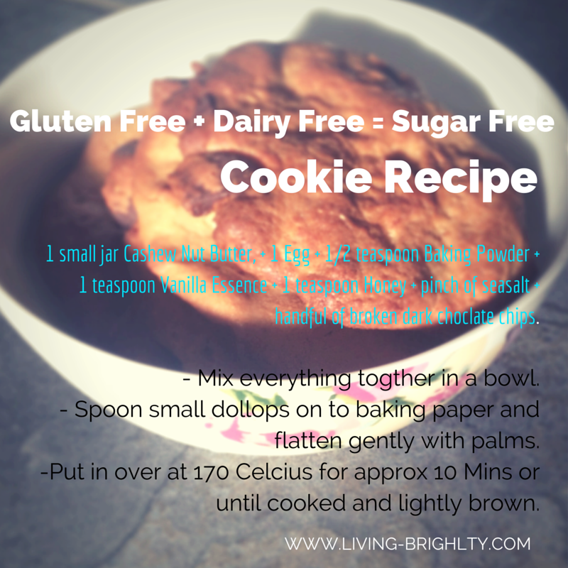 gluten free and dairy free and sugar free cookies