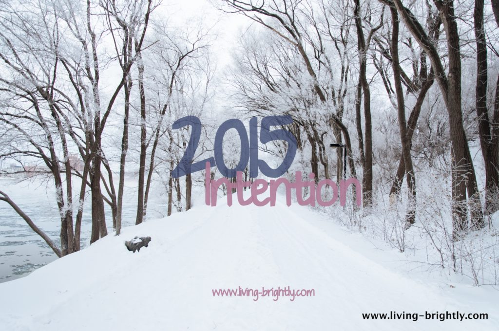 What is your New Year Intention?